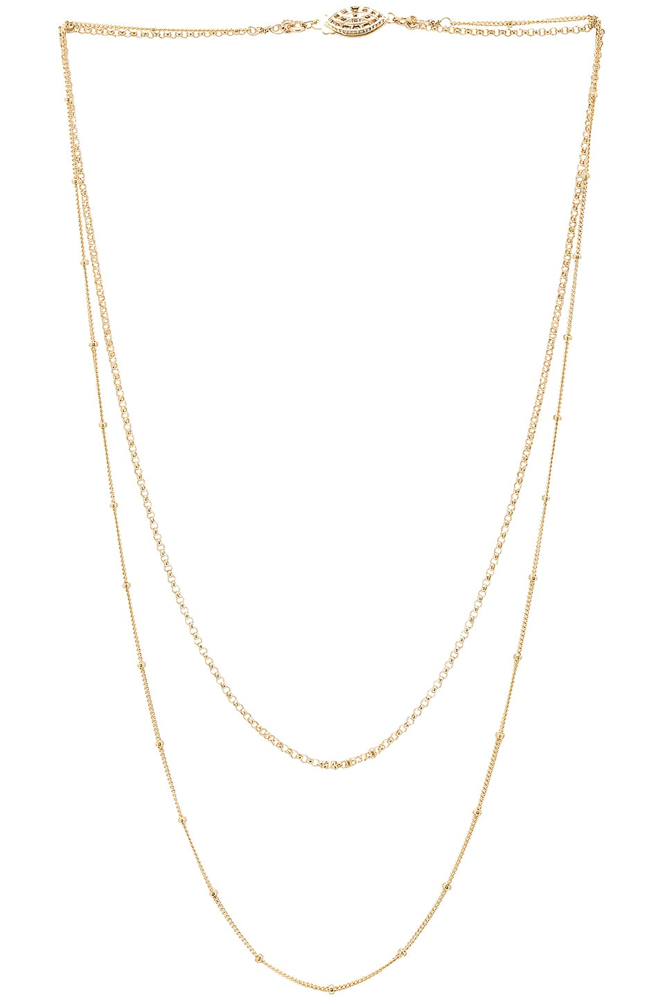 PARADIGM DUNE DOUBLE LAYER NECKLACE