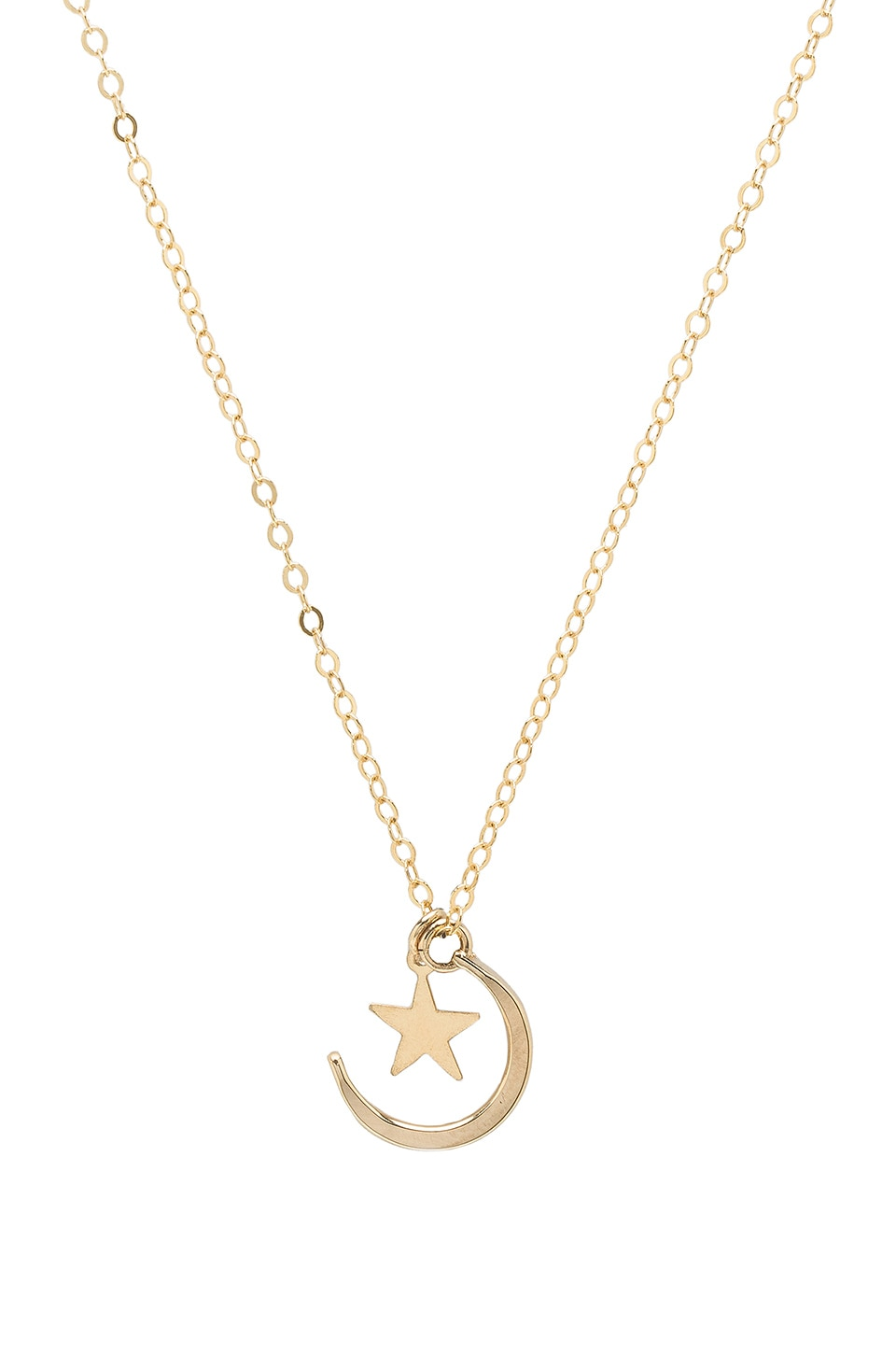 PARADIGM MOON & STONE NECKLACE