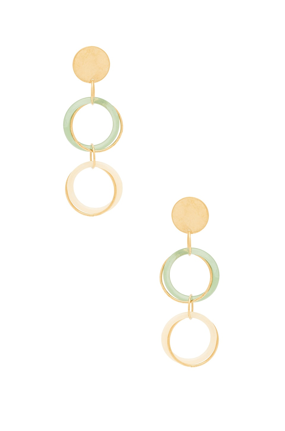 PARADIGM INTERLOCK EARRINGS