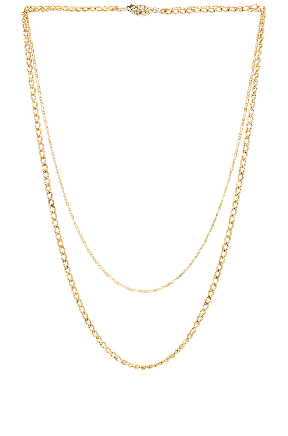 PARADIGM BROOKLYN DOUBLE CHAIN NECKLACE