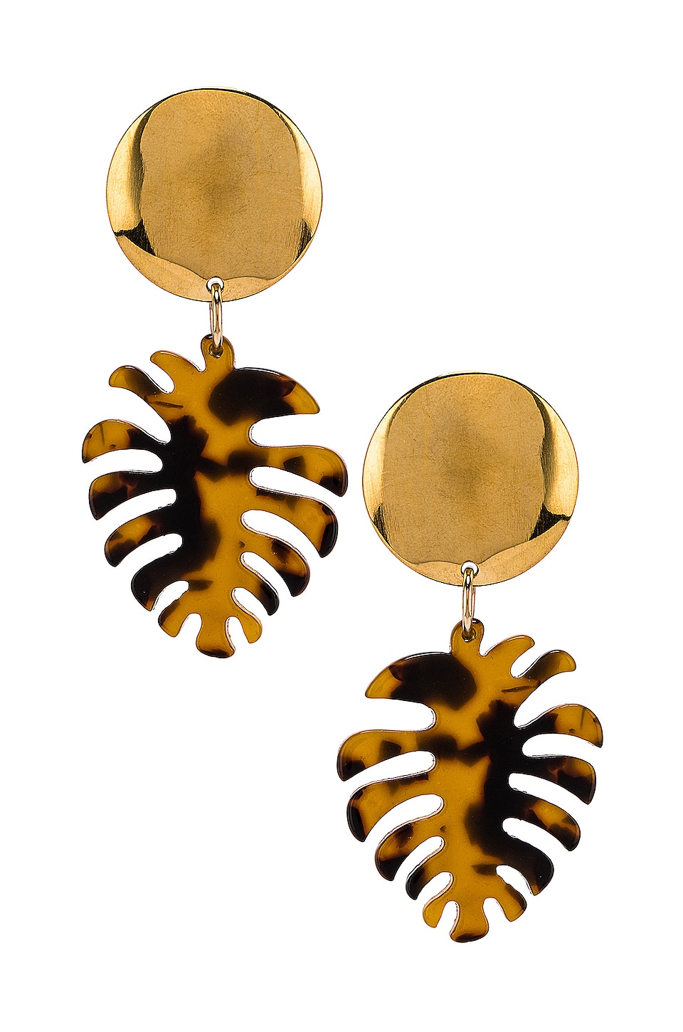 Paradigm Copa Cabana Earrings in Dark Tortoise