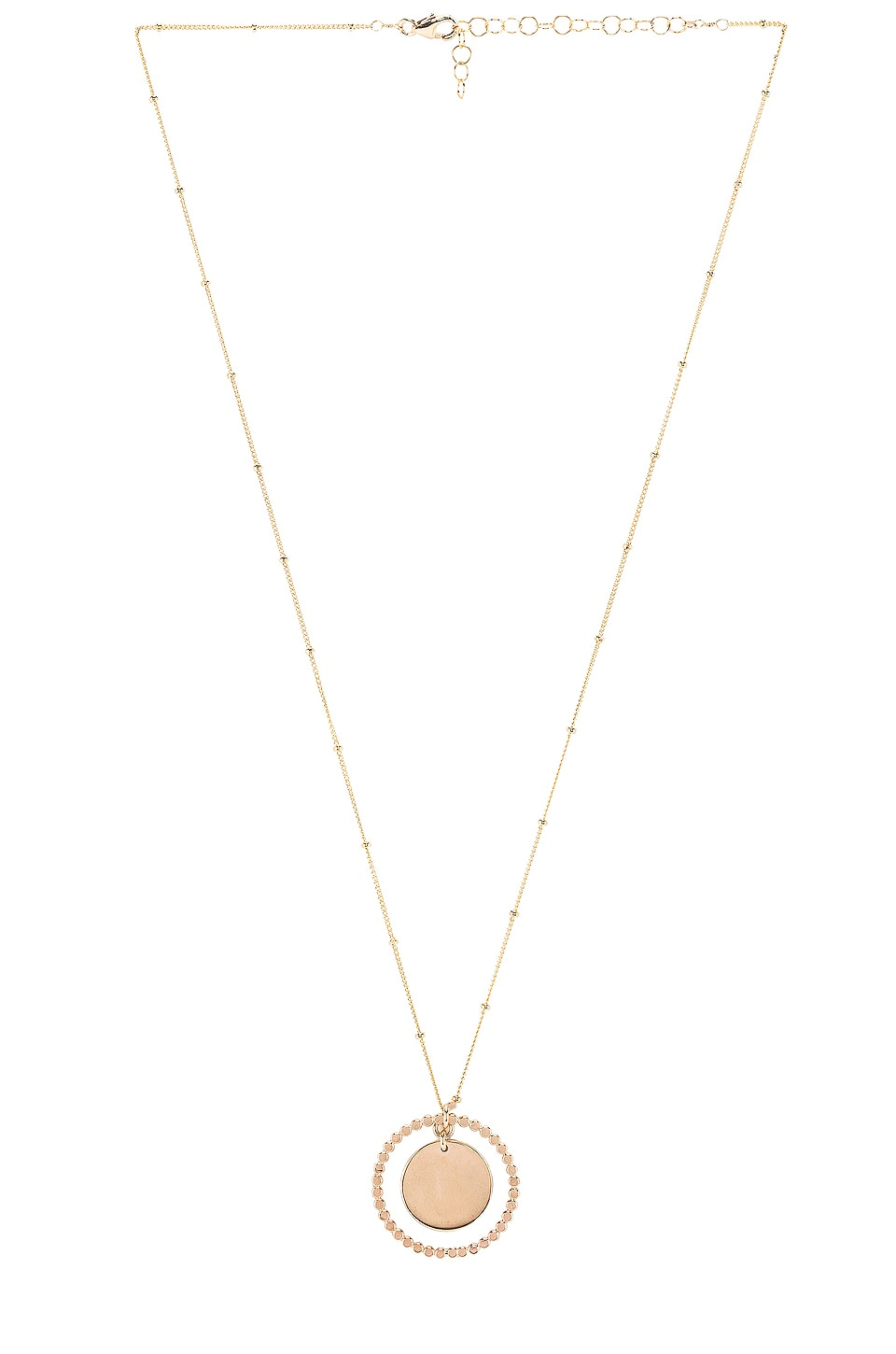 Paradigm Stars Align Coin Pendant Necklace in Gold