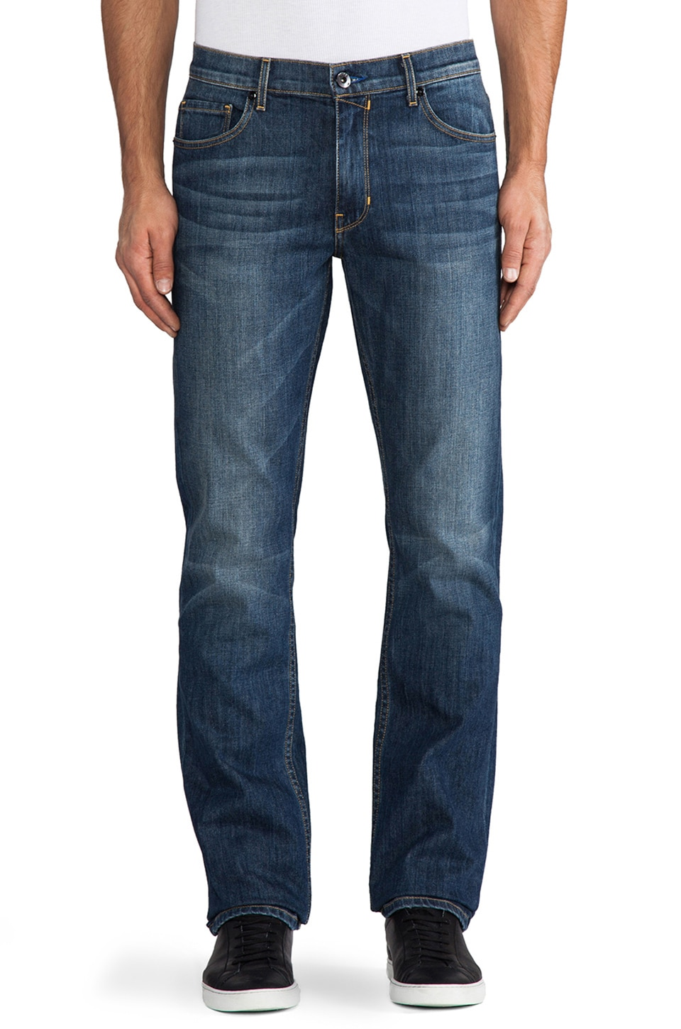 Paige Denim Normandie Slim Straight in Current