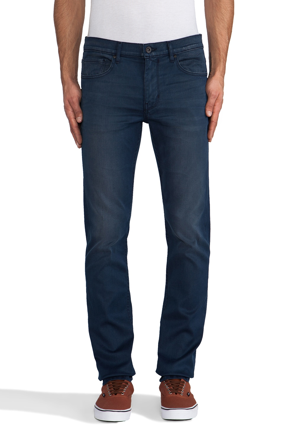 Paige Denim Federal Slim in Stagger