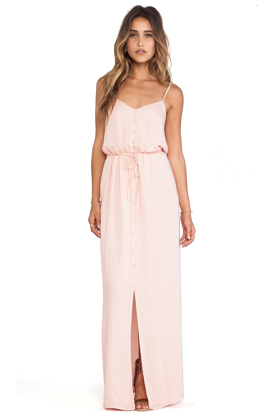 Paige Denim Nina Dress in Ballet Pink