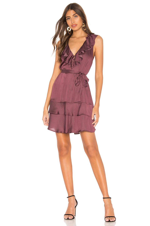 PAIGE Frieda Dress in Huckleberry