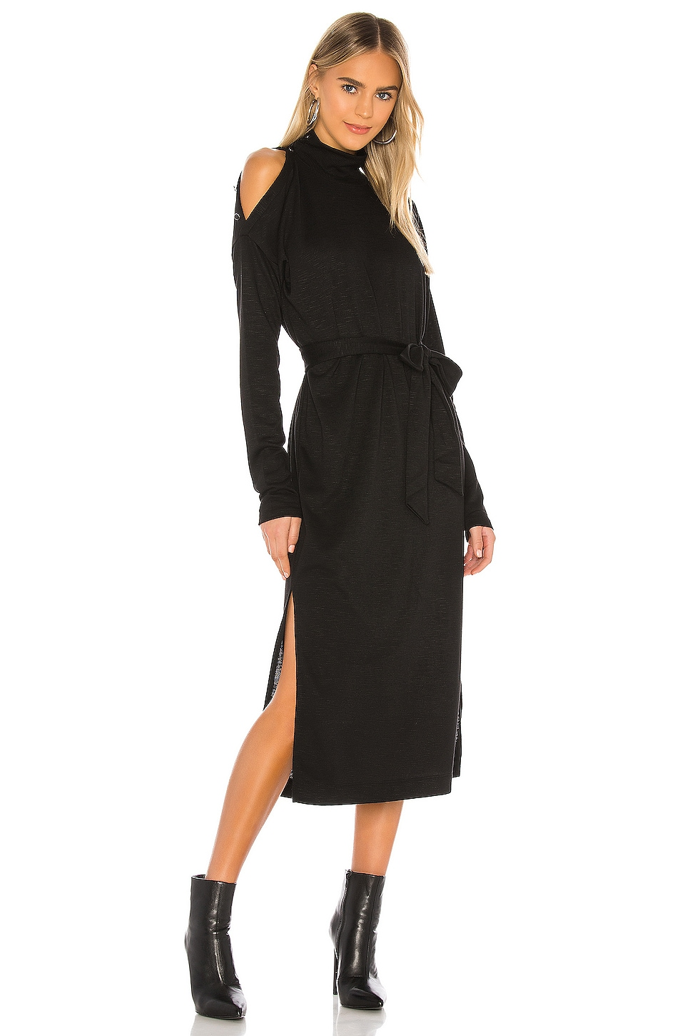 PAIGE Paxton Dress in Black