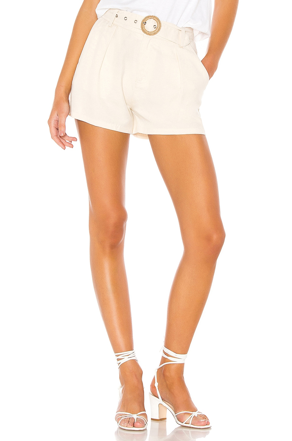 PAIGE Montana Short in Birch