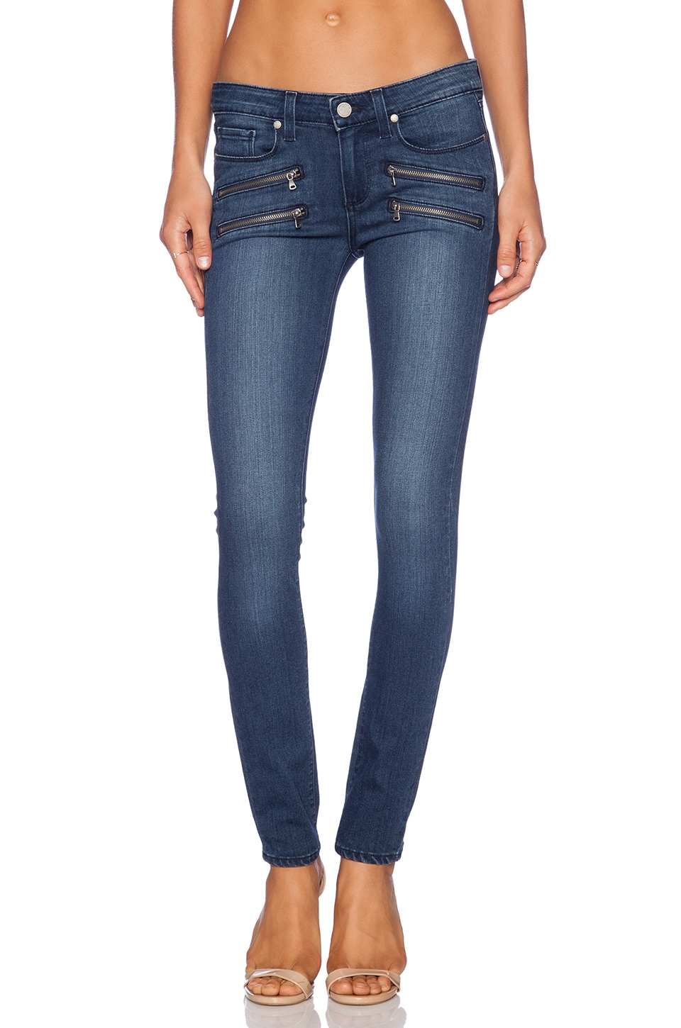 PAIGE Edgemont Ultra Skinny in Gabrielle No Whiskers