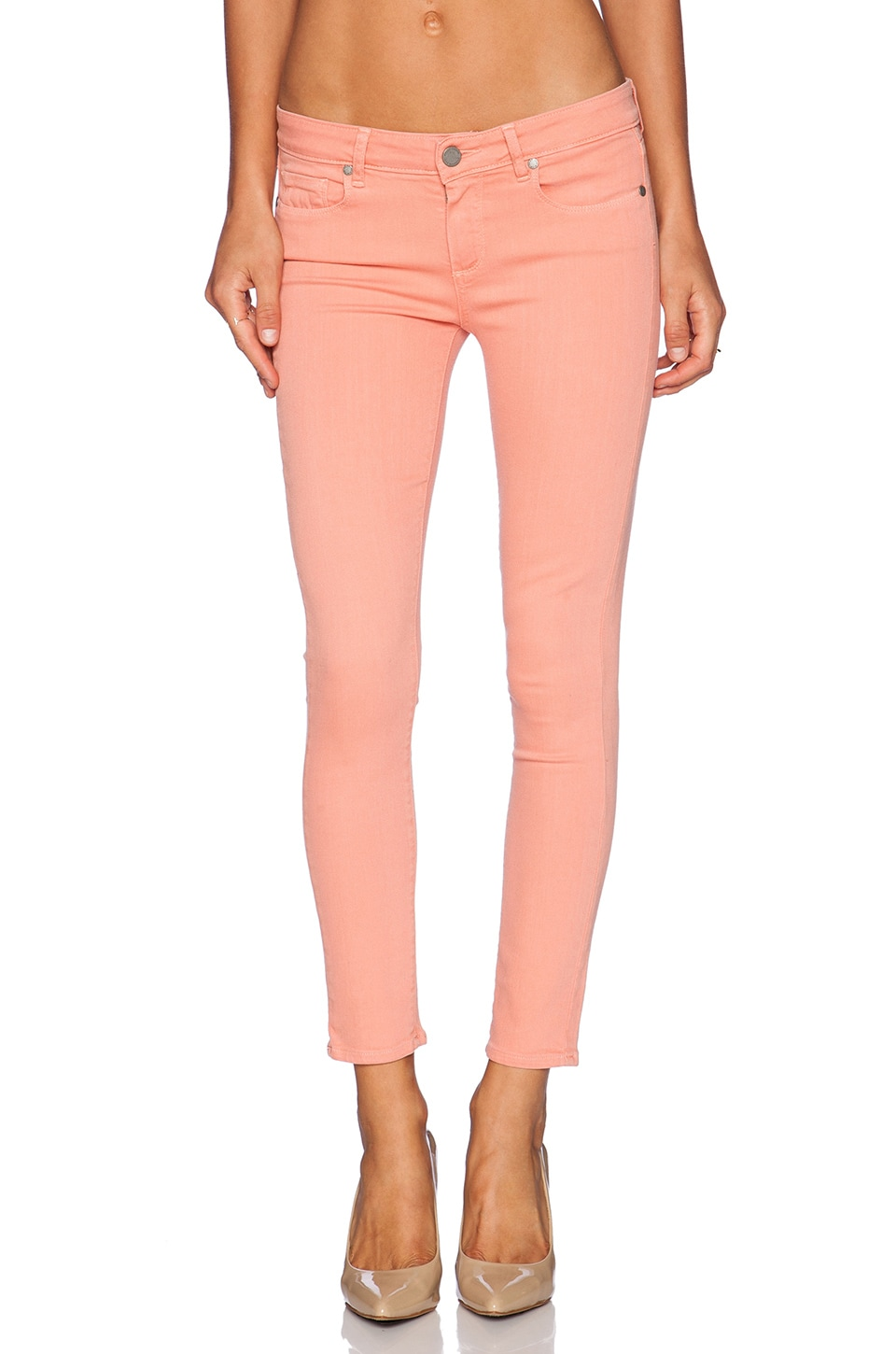 PAIGE JEAN CROPPED VERDUGO ANKLE