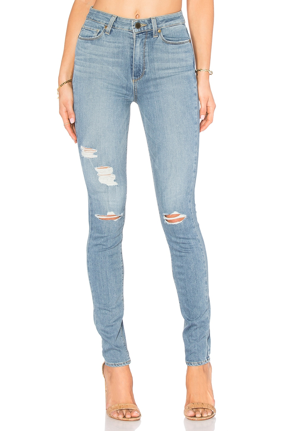 PAIGE Margot Ultra Skinny in Annora Destructed