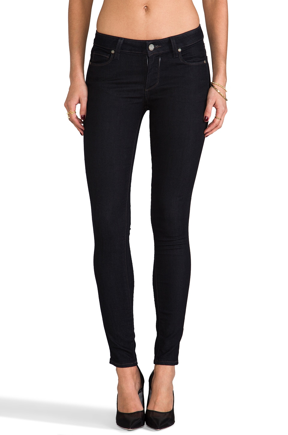PAIGE Denim Verdugo Jegging in Twilight