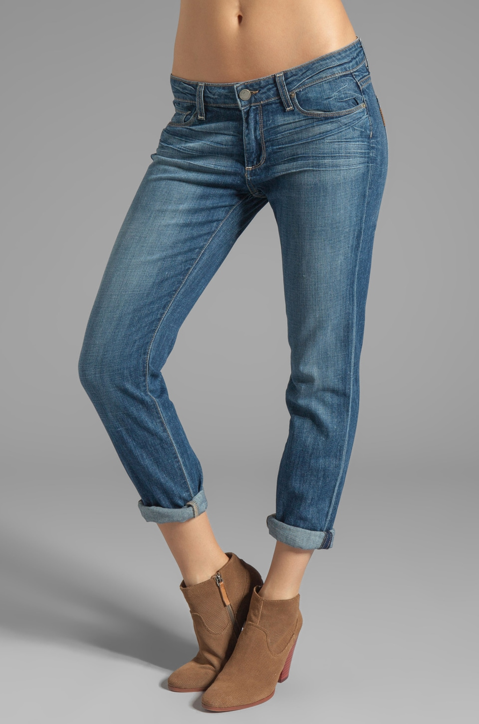 PAIGE Denim Jimmy Jimmy Skinny in Tiger Lily