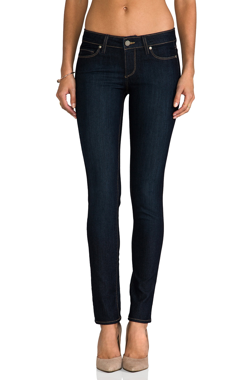 PAIGE Denim Skyline Skinny in Fountain