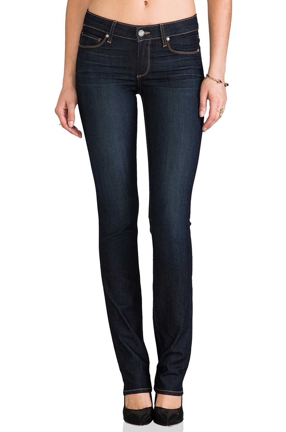 Paige Denim Skyline Straight Leg in Stream