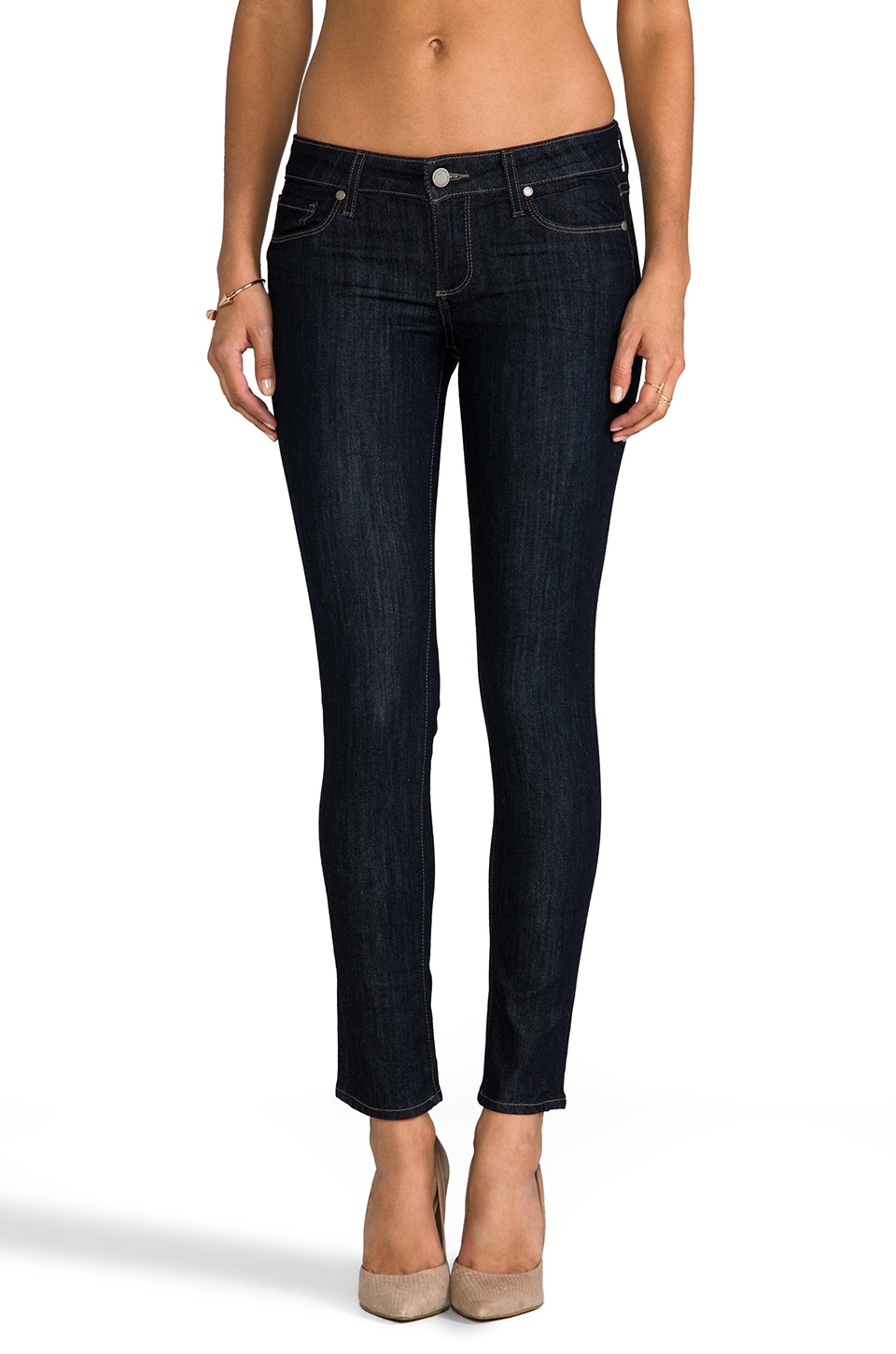 Paige Denim Skyline Ankle Peg in Dream