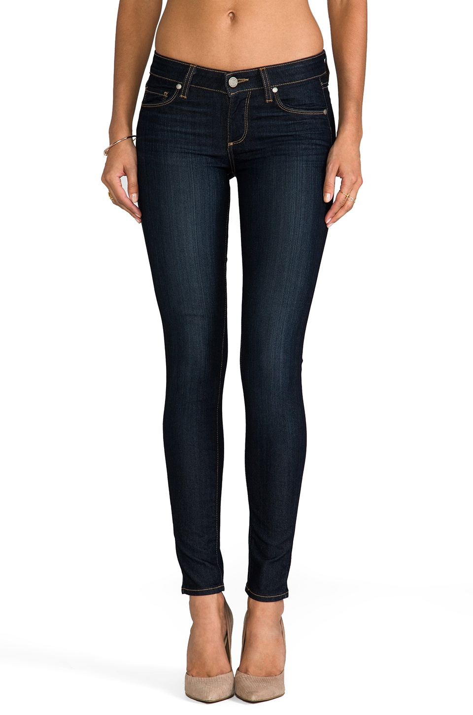 Paige Denim Verdugo Skinny in Stream