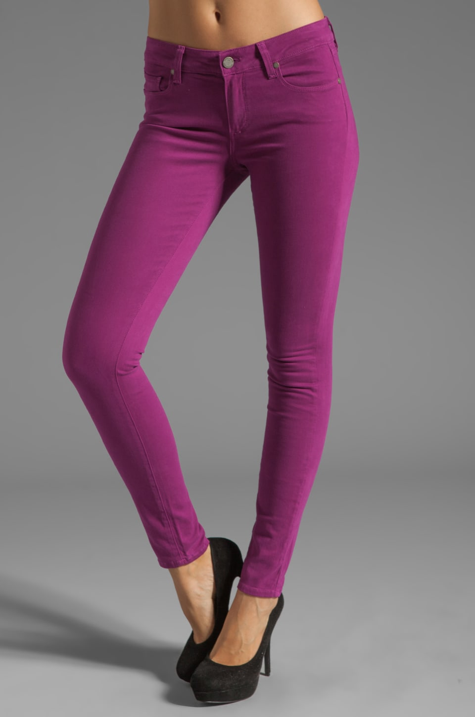 Paige Denim Verdugo Ultra Skinny in Sugar Plum
