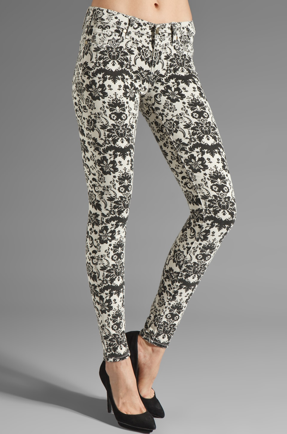 Paige Denim Verdugo Ultra Skinny in Ivory