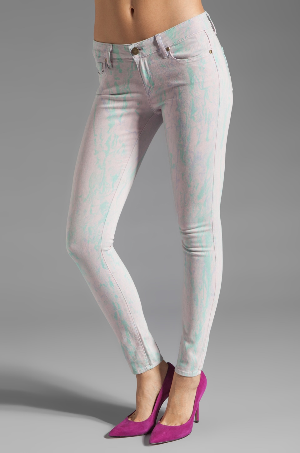 Paige Denim Verdugo Ultra Skinny in Candy