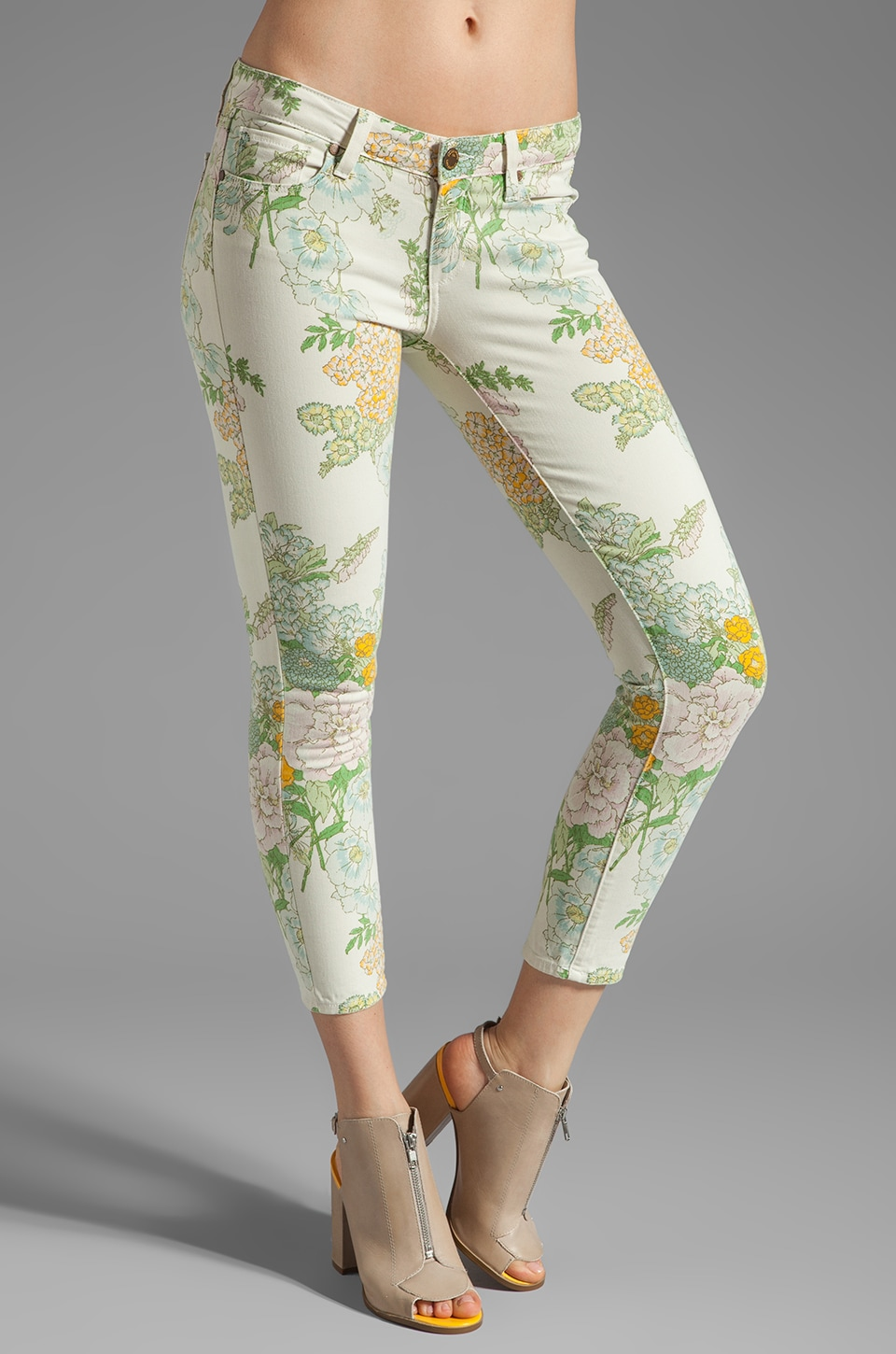 Paige Denim Verdugo Ankle in Flea Market Floral