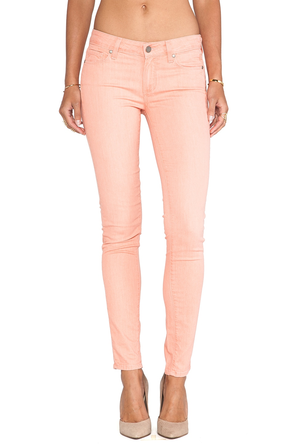 PAIGE Denim Verdugo in Pink
