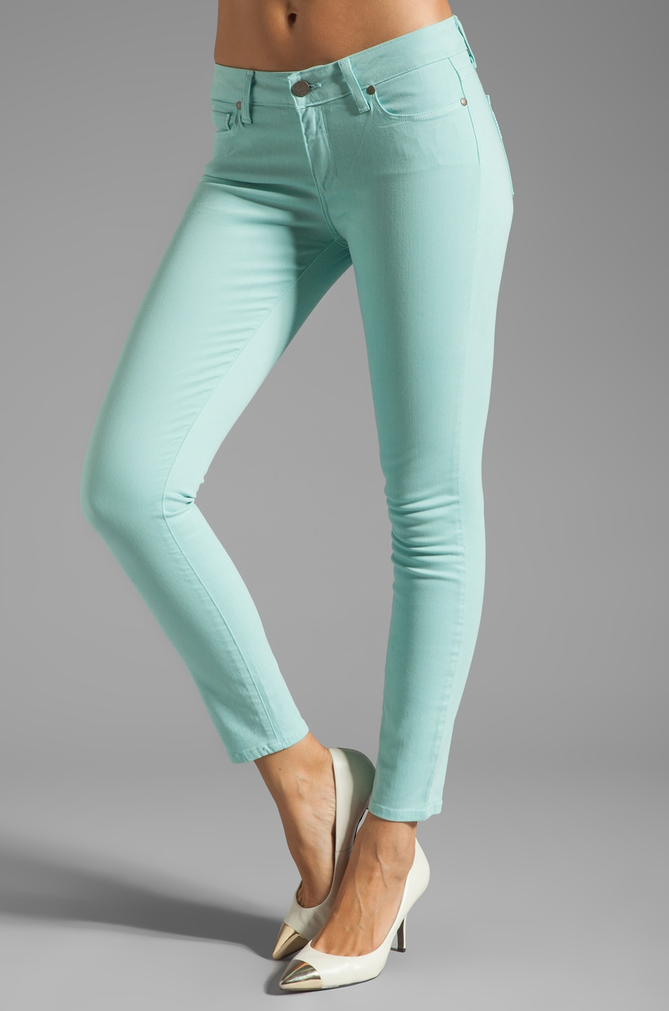 PAIGE Denim Verdugo Ankle in Sky