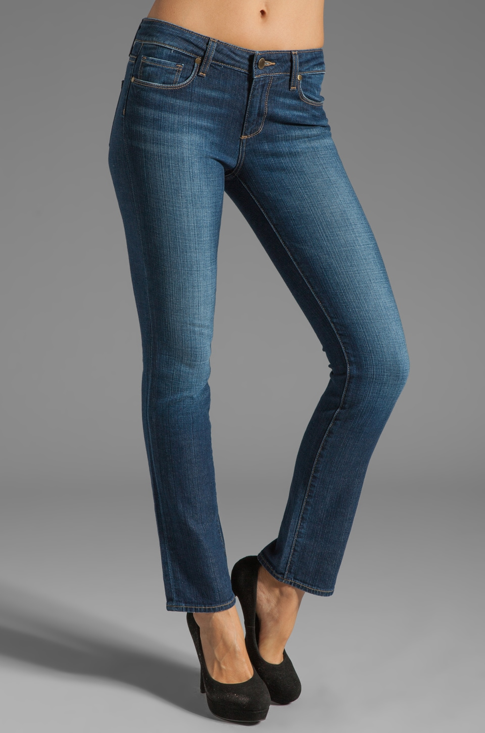 Paige Denim Kelsi Skyline Straight Leg in Carley
