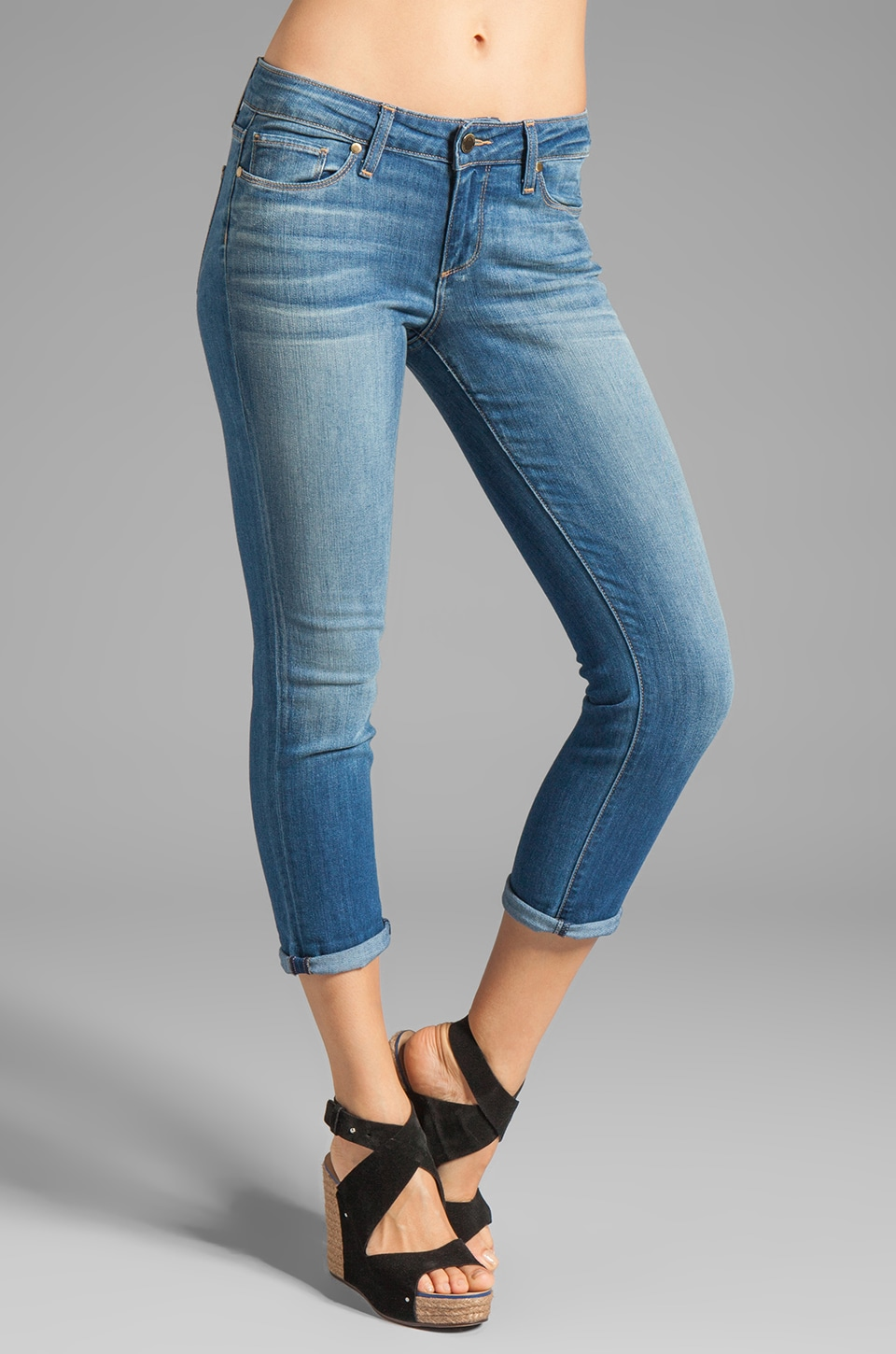 Paige Denim James Crop in Aero