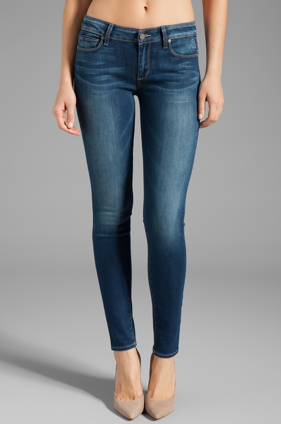 Paige Denim Verdugo Ultra Skinny in Lightyear
