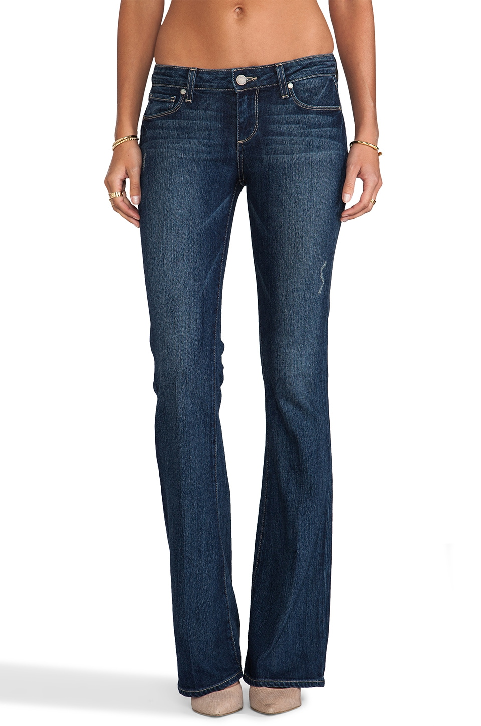 Paige Denim Skyline Boot in Augusta