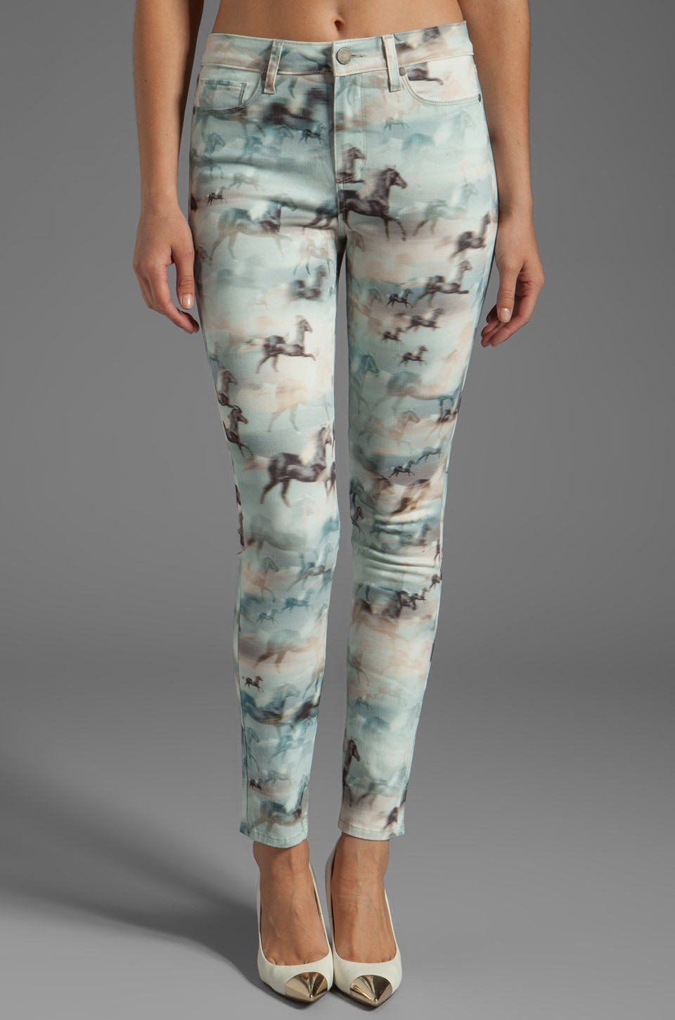 PAIGE Denim Hoxton Ultra Skinny in Wild Hearts