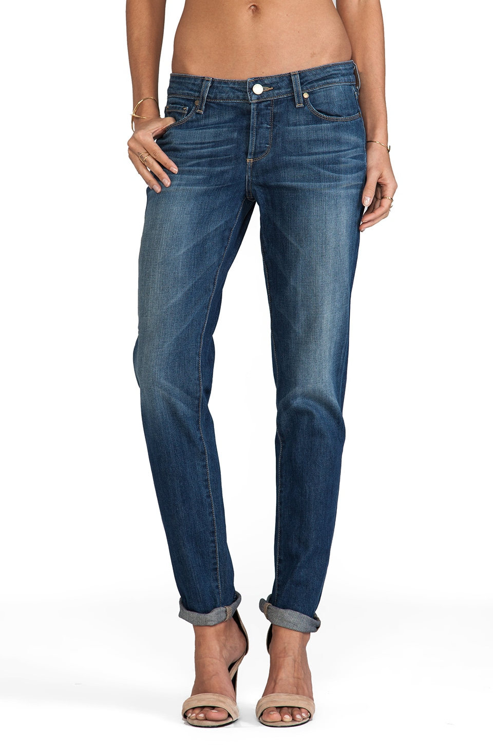 PAIGE Denim Jacob Loose Skinny in Woodlands