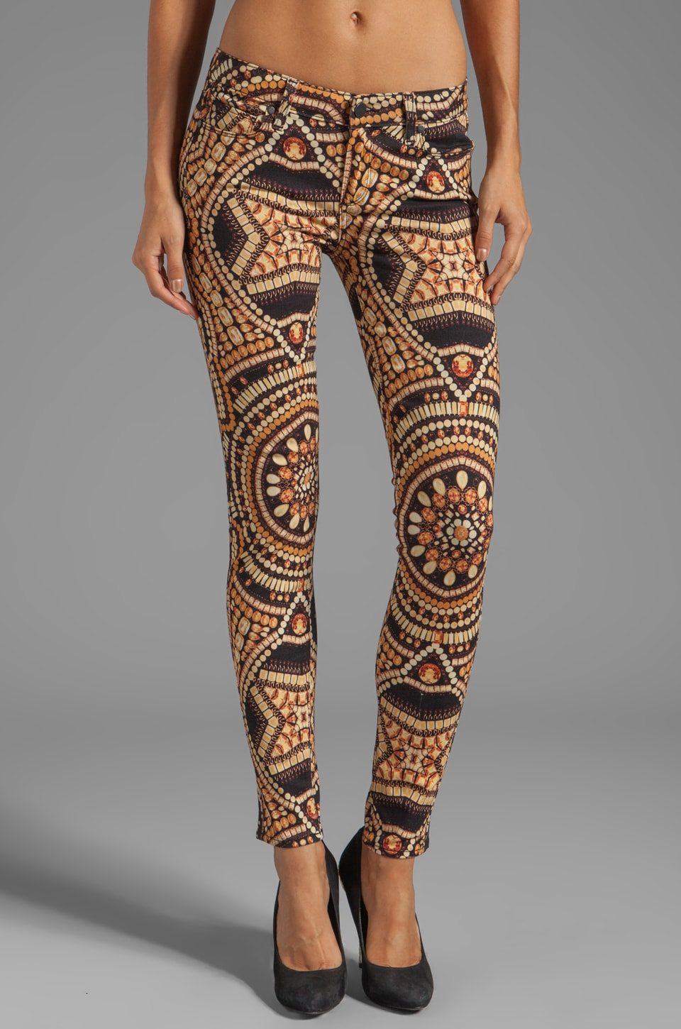 Paige Denim Verdugo Ultra Skinny in Amber Crown Jewels