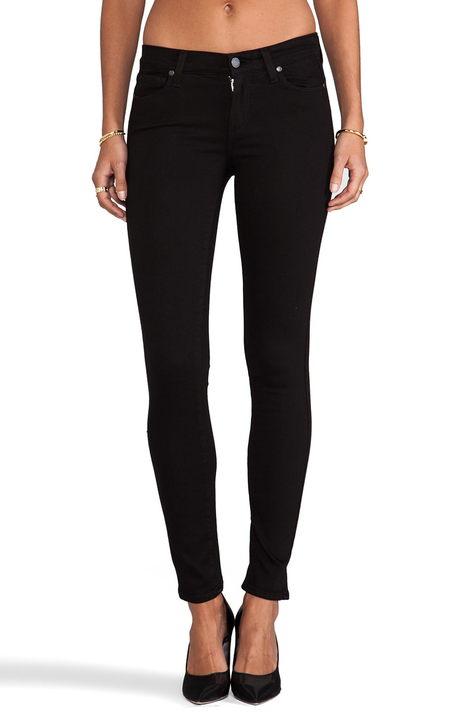 PAIGE Denim Verdugo Ultra Skinny in Black Dahlia