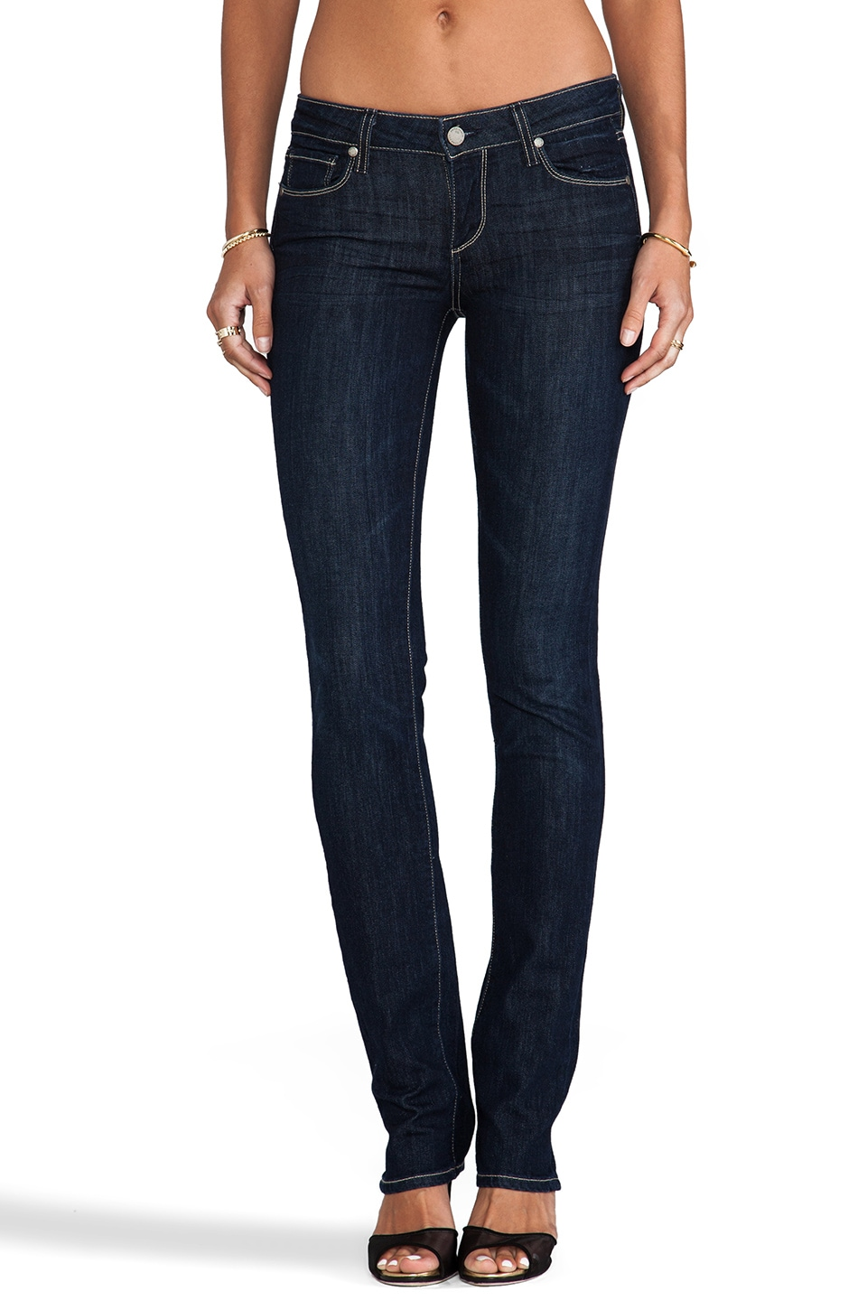 PAIGE Denim Skyline Straight in Lucid