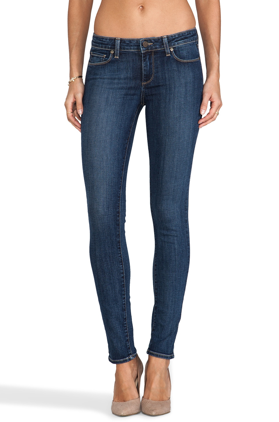 Paige Denim Skyline Skinny in Descend