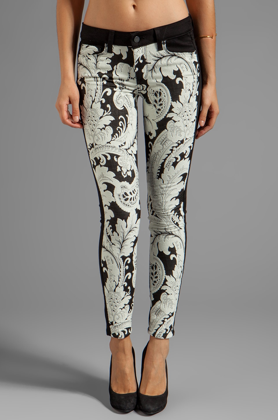 PAIGE Denim Emily Ultra Skinny in Needlepoint