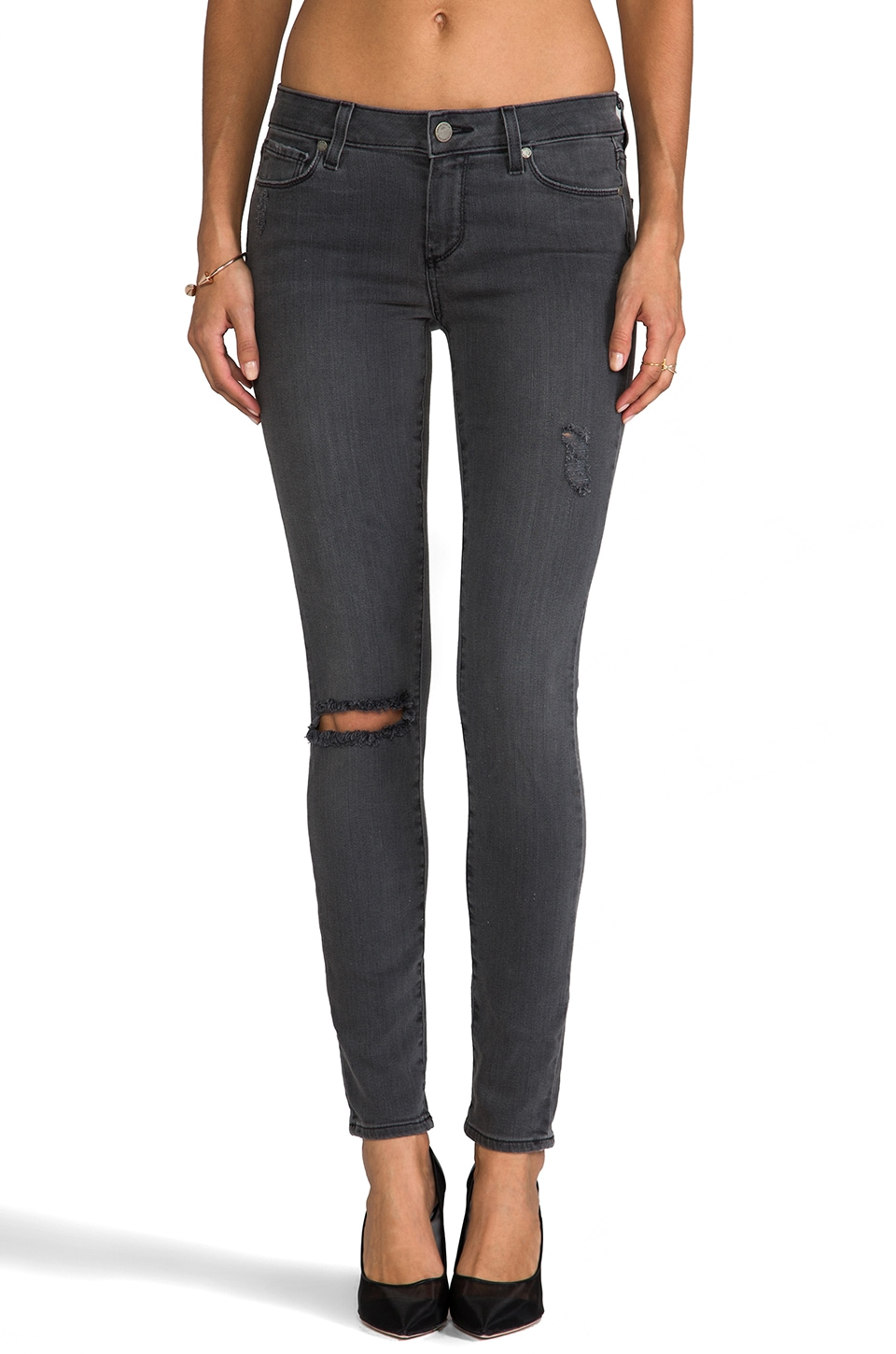 Paige Denim Verdugo Ultra Skinny in Kate Destructed