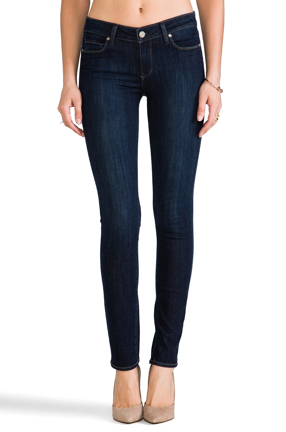 Paige Denim Skyline Skinny in Trinity