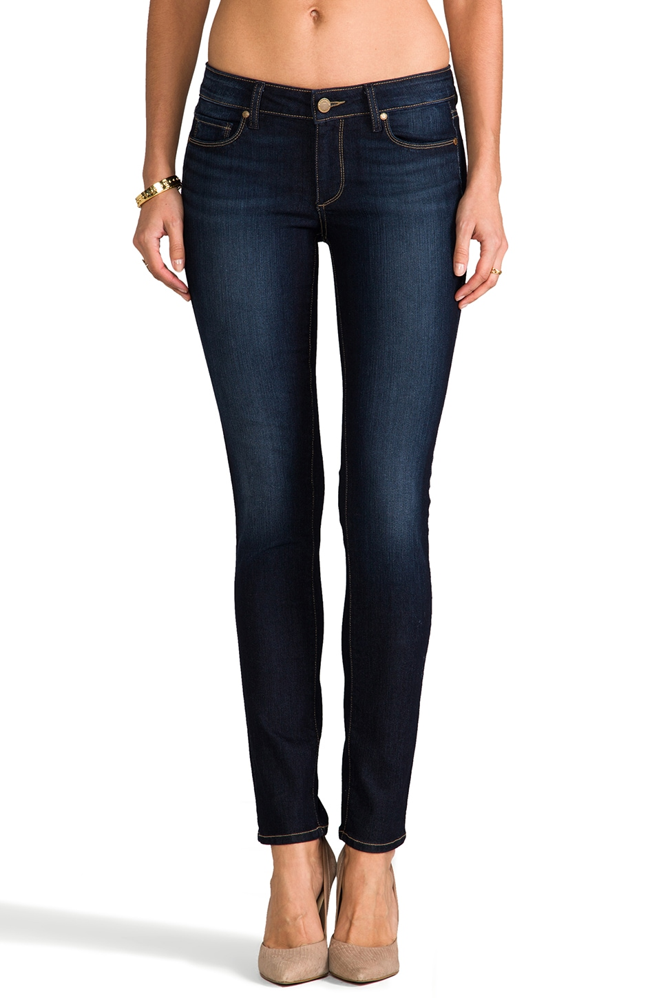 PAIGE Denim Skyline Skinny in Moonrise
