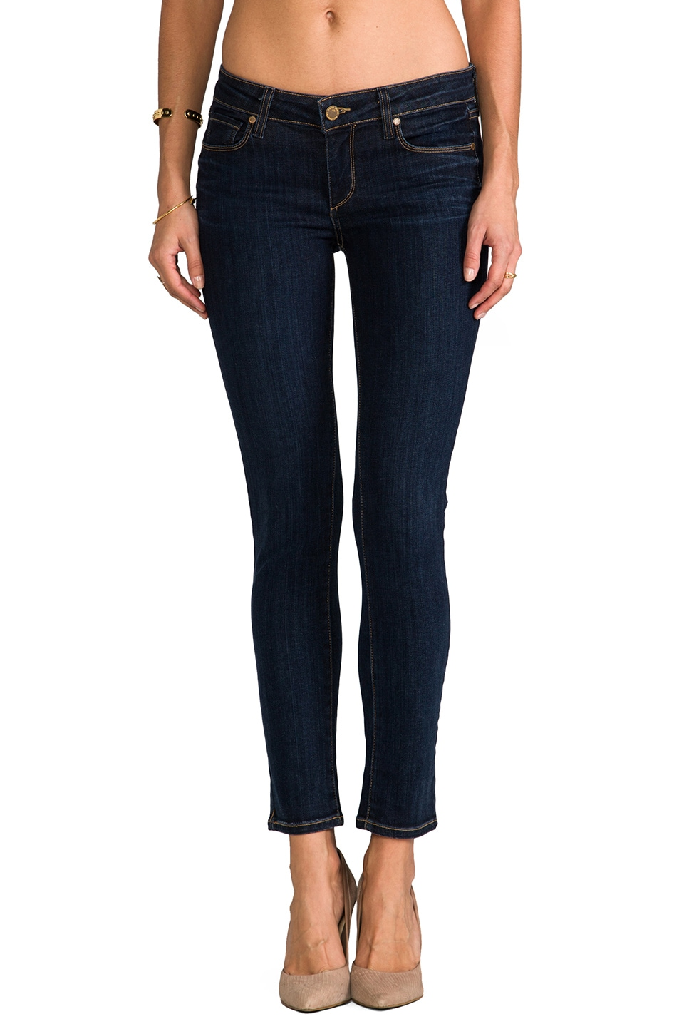 Paige Denim Skyline Ankle Peg in Delancey