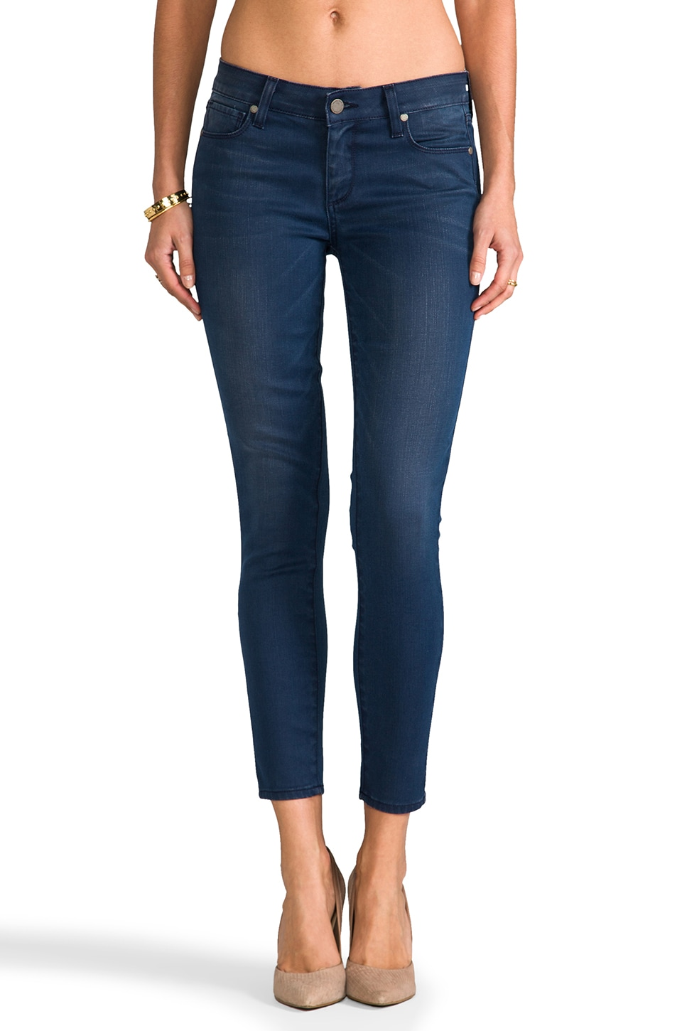 PAIGE Denim Verdugo Ankle in Enlighten