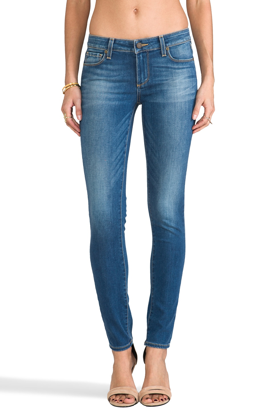PAIGE Denim Skyline Skinny in Heritage