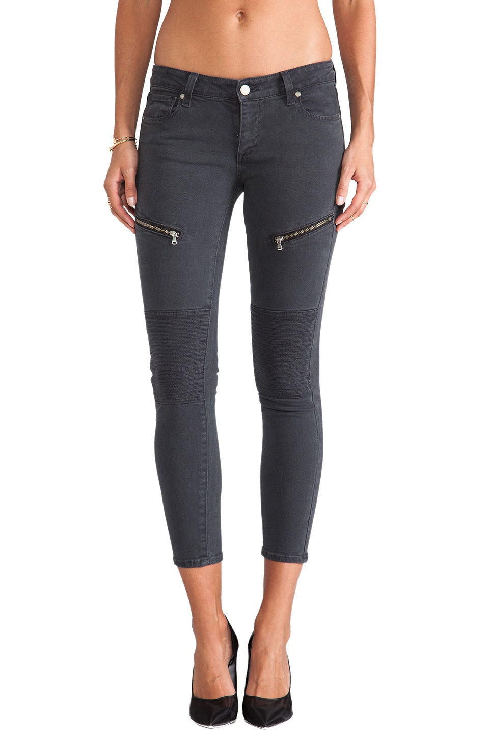 PAIGE Denim Sachi Ultra Skinny in Black Currant