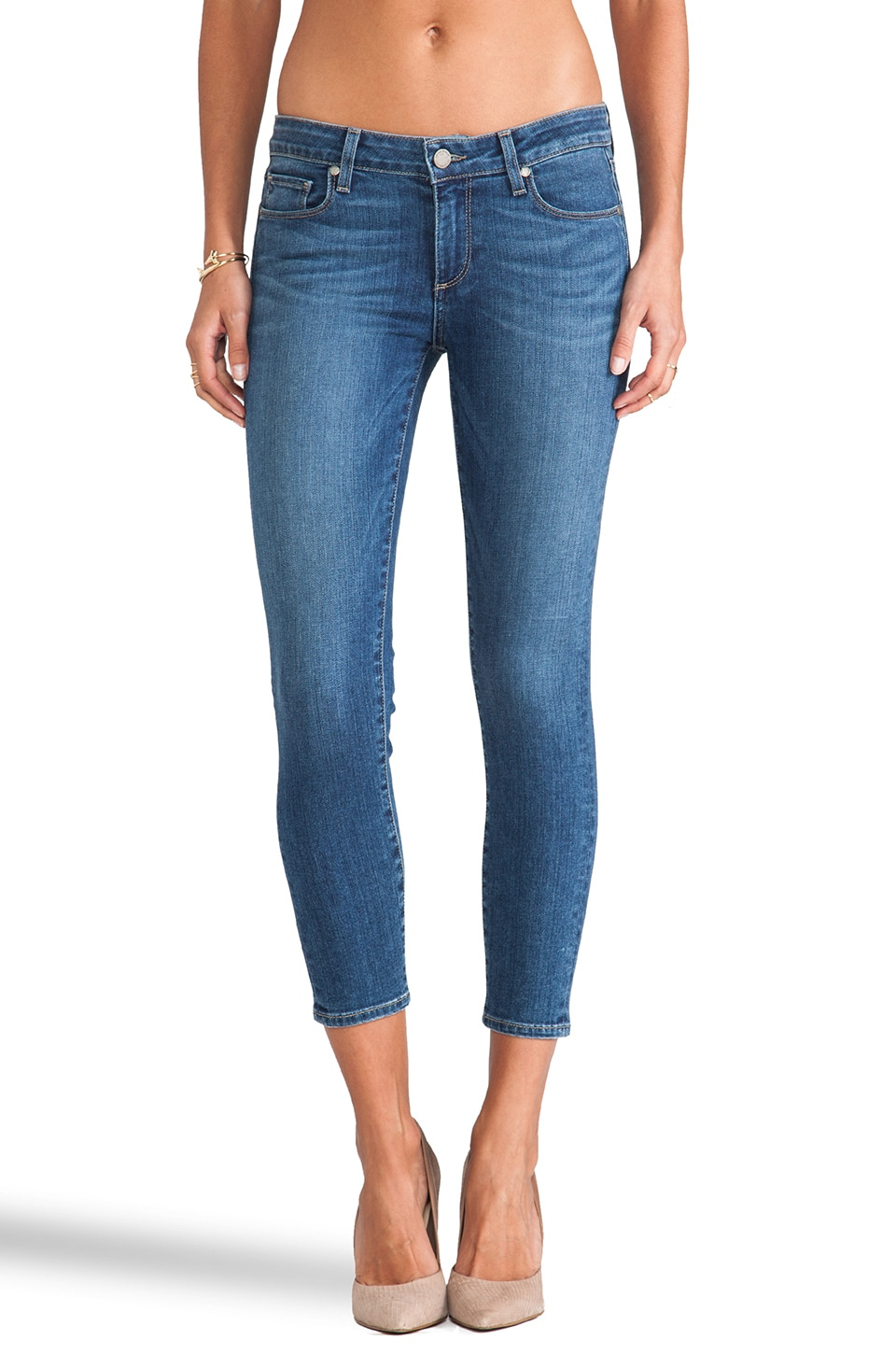 PAIGE Denim Verdugo Crop in Nevada
