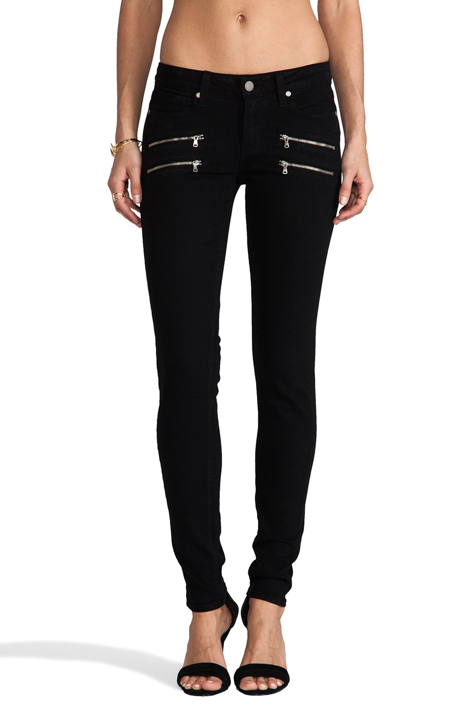 Paige Denim Edgemont Ultra Skinny in Black