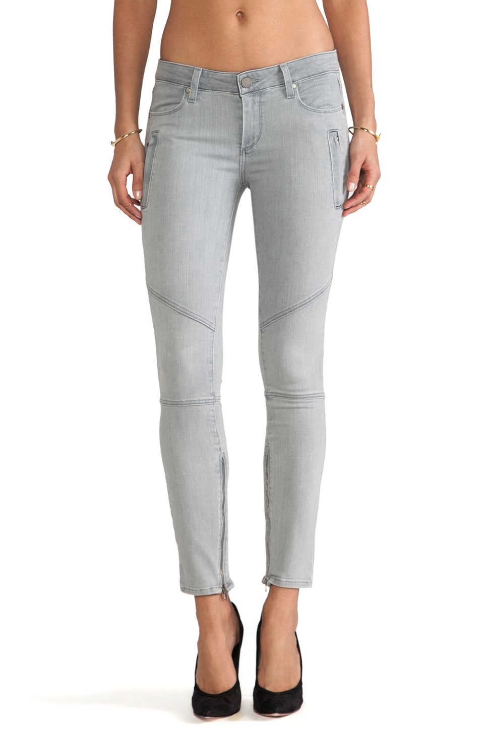PAIGE Denim Marley Skinny in Montauk Grey