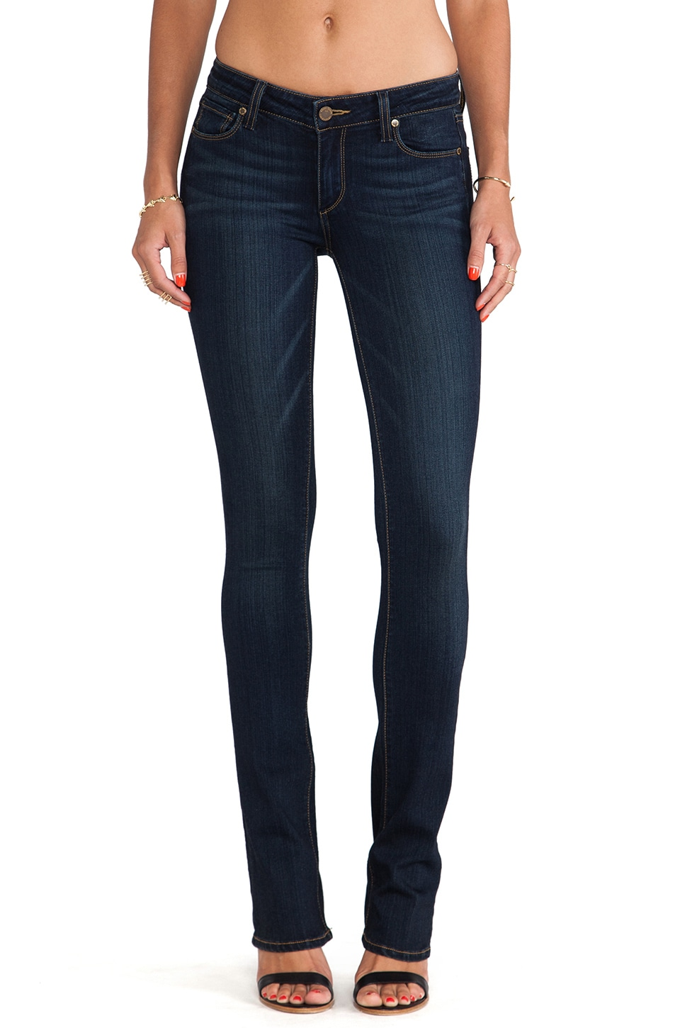 Paige Denim Manhattan Boot in Armstrong