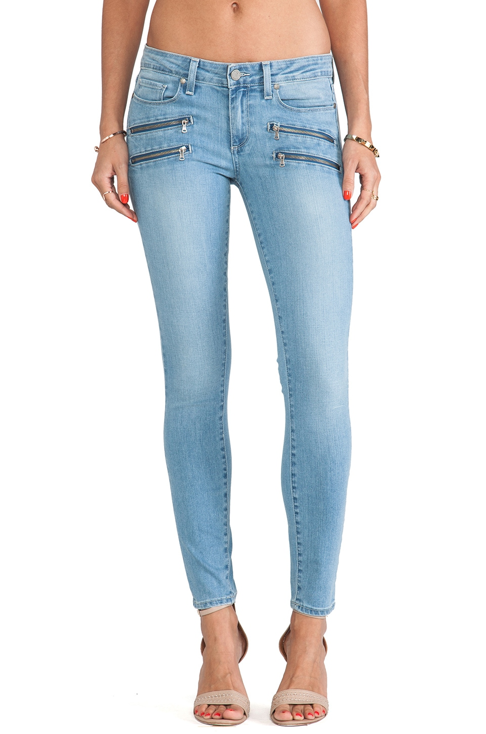 PAIGE Denim Edgemont Ultra Skinny in Runaway
